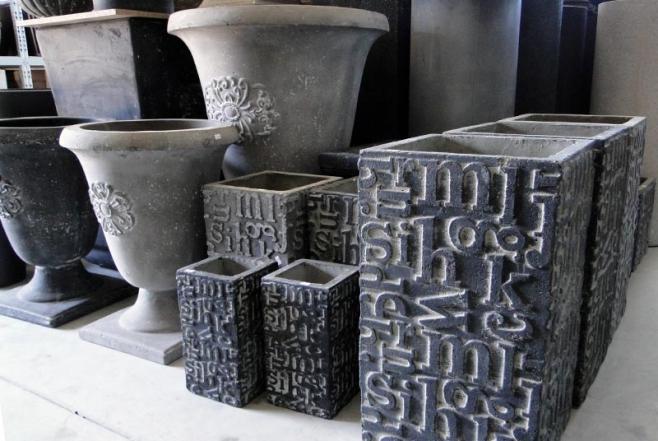 betonstein grau einmal ganz anders keramikstadel rettenberg lagerverkauf pflanzt pfe. Black Bedroom Furniture Sets. Home Design Ideas