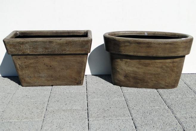 moderne optik mit polystone wetterfest und leicht keramikstadel rettenberg lagerverkauf. Black Bedroom Furniture Sets. Home Design Ideas